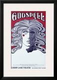 Godspell Cherry Lane Theater Framed Giclee Print