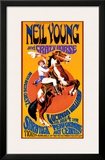 Neil Young and Crazy Horse in Concert Prints by Bob Masse
