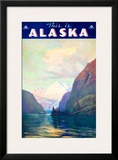 This is Alaska Framed Giclee Print