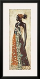 Femme Africaine IV Posters by Jacques Leconte