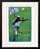 Coupe du Monde, 1938 Framed Giclee Print by Joe Bridge