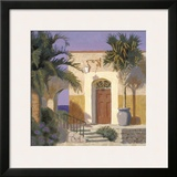 San Miguel Framed Giclee Print by William Buffett