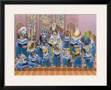 Harmony Framed Giclee Print by Bryan Moon