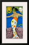 Montevideo, Cuidad de Turismo Framed Giclee Print