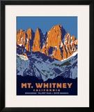 Mt. Whitney (Day) Framed Giclee Print by Steve Forney