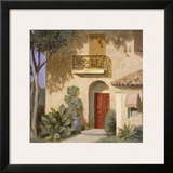 Via Nogales Framed Giclee Print by William Buffett