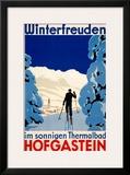 Winterfreuden Framed Giclee Print