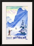 Autriche Framed Giclee Print