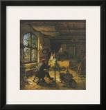 The Painter in his Studio Posters by Adriaen Ostade