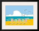 Summer Bay I Framed Giclee Print by Emily Burningham