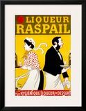 Liqueur Raspail Framed Giclee Print