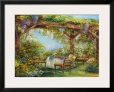 Wisteria Breeze Framed Giclee Print by  Carson