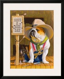 Have A Nice Day Framed Giclee Print by Bryan Moon