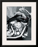 The Seduction Framed Giclee Print by Harvey Edwards