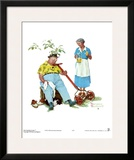 Cool Aid Print by Norman Rockwell