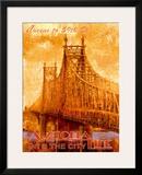 Astoria Line Framed Giclee Print