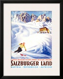 Salzburger Land Framed Giclee Print