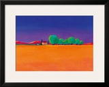 The Olive Grove Framed Giclee Print by Gerry Baptist