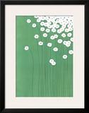 Wild Daisies Framed Giclee Print by Takashi Sakai