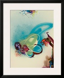 Floral Mist III Framed Giclee Print by  Leila