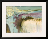Highland Vista Framed Giclee Print by Beth Wintgens