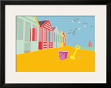 Summer Bay III Framed Giclee Print by Emily Burningham