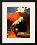 Empire State Express Prints by Leslie Ragan