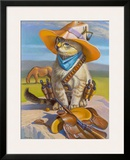 Billy The Kid Framed Giclee Print by Bryan Moon