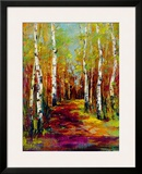 Aspen Trail Framed Giclee Print by  Georgie