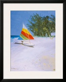 Barbados Beach II Framed Giclee Print by Paul Brown