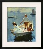 Calm Morning, 1904 Print by Frank Weston Benson