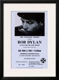 Bob Dylan, Carnegie Hall, 1961 Print