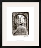 Village Passageway Framed Giclee Print by Laura Denardo