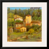 Tuscany Villaggio Framed Giclee Print by  Longo