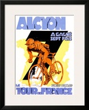 Alcyon, Tour de France Framed Giclee Print by  Josse