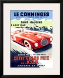 Le Comminges Framed Giclee Print by Andre Bermond