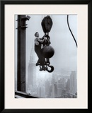 Construction Worker on the Empire State Building Poster