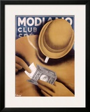 Modiano Cigarette Papers Framed Giclee Print