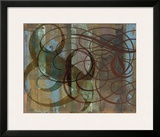 Tangle Framed Giclee Print by Mick Gronek