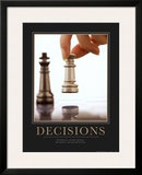 Decisions Posters