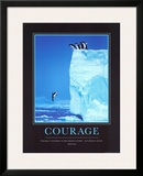 Courage Prints by Steve Bloom