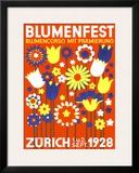 Bloomfest Zurich Framed Giclee Print