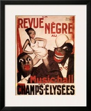 La Revue Negre, c.1925 Posters by Paul Colin