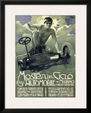 Mostra del Ciclo, Milano, 1905 Framed Giclee Print