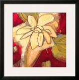 Jungle Gardenia I Print by Susan Davies