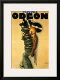 Disques Odeon, c.1932 Prints by Paul Colin