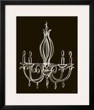 Elegant Chandelier IV Prints by Ethan Harper