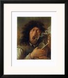 The Smoker Art by Adriaen Brouwer
