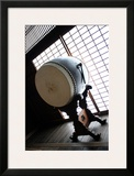 Taiko Drum That Was Inside of the Temple Posters by Ryuji Adachi