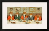 Mr. Fox's Hunt Breakfast Prints by H Neilson